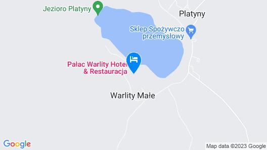Pałac Warlity Map