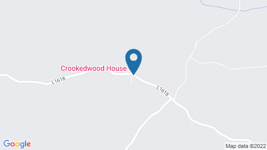 Crookedwood House Country House B&B Map