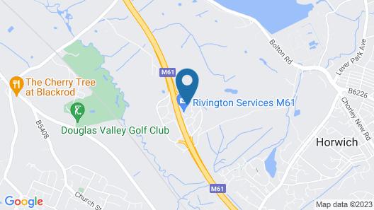 Rivington Lodge Map