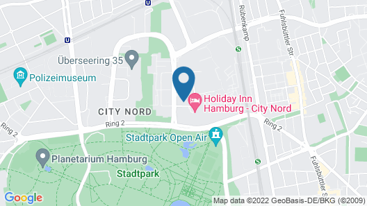 my4walls Serviced Apartments Hamburg Map