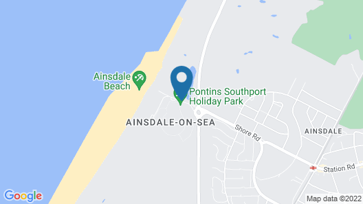 Southport Holiday Park Map