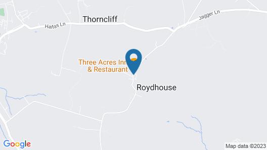 The Three Acres Inn & Restaurant Map