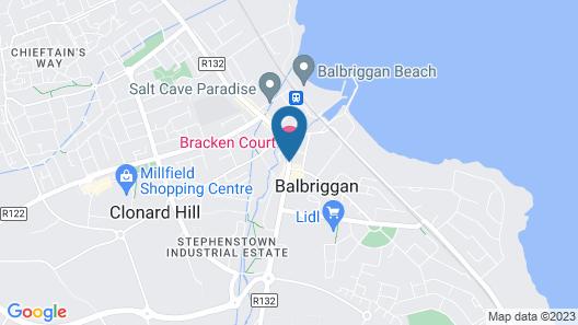 Bracken Court Hotel Map