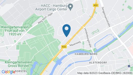 appartello - smarttime living Hamburg Map