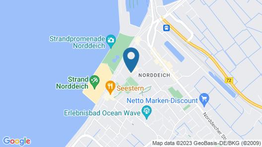 Strandhuus Norddeich Map