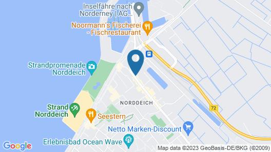 Hotel Pension Am Hafen Map