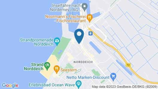Pension Frisia Map