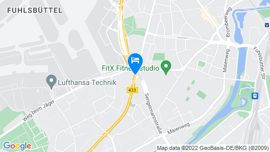 Motel One Hamburg Airport Map