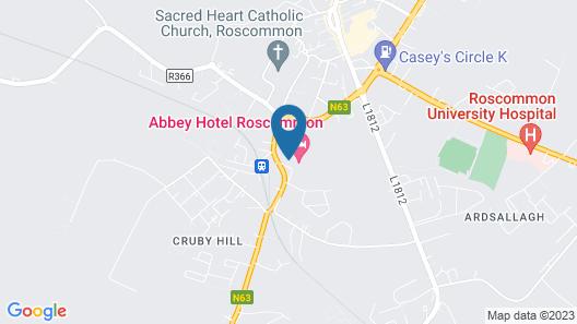 Abbey Hotel Roscommon Map