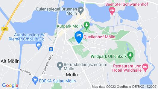 Quellenhof Mölln Map