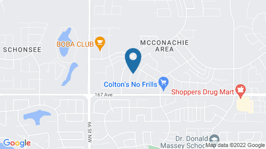 McConachie Luxury Inn Map