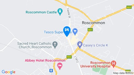 Gleesons Restaurant & Rooms Map