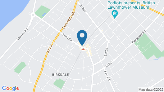 N'ista Boutique Rooms Birkdale - Southport Map