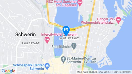 Hotel Nordlicht Map