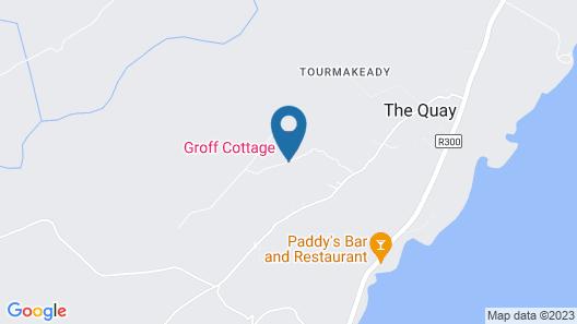 Groff Cottage Map