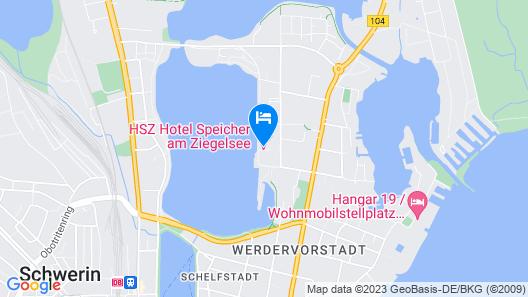 Hotel Speicher am Ziegelsee Map
