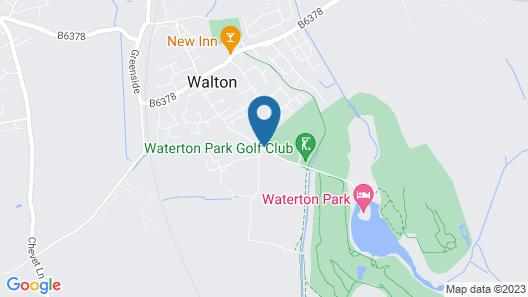 Waterton Park Hotel Map