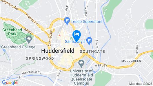 The Huddersfield Hotel Map