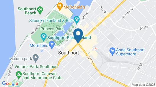 Scarisbrick Hotel Map