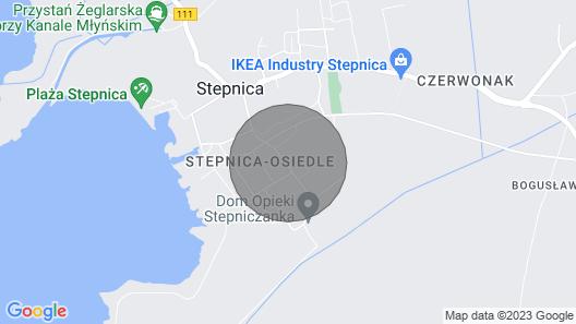 Holiday Home, Stepnica Map