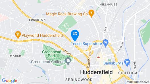 Highfields Town House No 2 Map