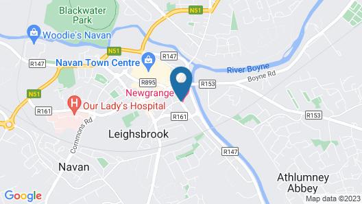 Newgrange Hotel Map
