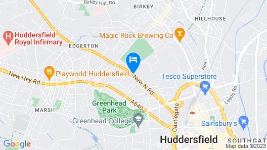 Edgerton Hotel Map