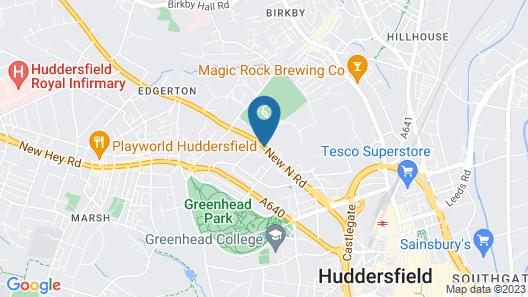 Ashfield Hotel Map