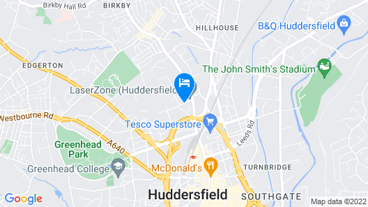 The Cambridge Hotel Map