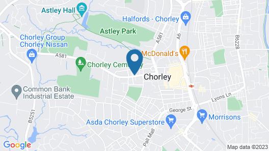 Apartments St Thomas Road Map