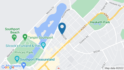 Leicester Hotel Map
