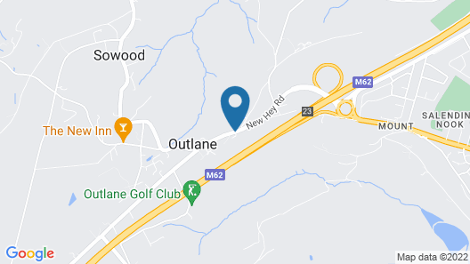 The Old Golf House Hotel Map