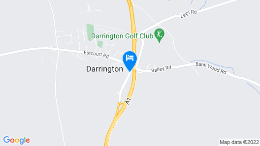 Darrington Hotel by Greene King Inns Map