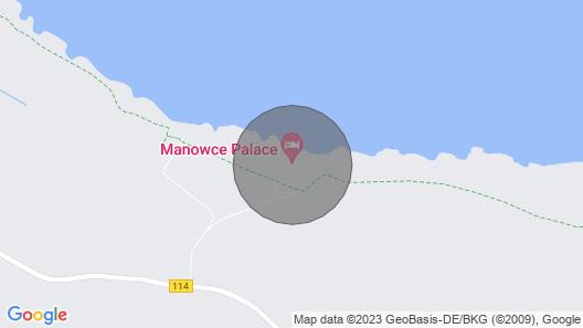 Manowce Palace - Luxury Exclusive Holiday Villa Near The Baltic Sea, Poland Map