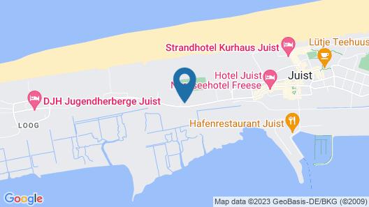 Inselresidenz Wattenmeer Wo.3 Map