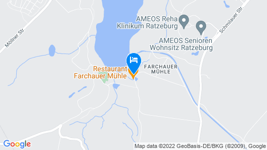 Hotel Farchauer Mühle Map