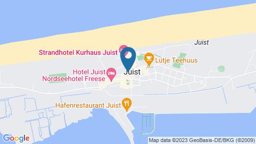 Haus Worch Map