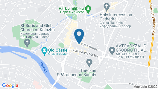 Art Apartment Grodno Map