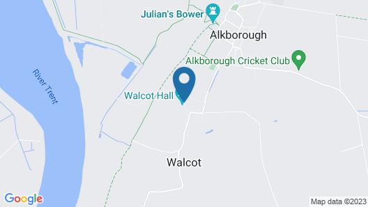 Walcot Hall Estate Map