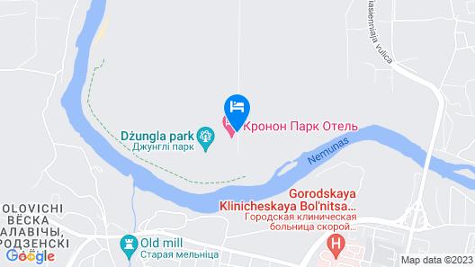 Kronon Park Hotel Map