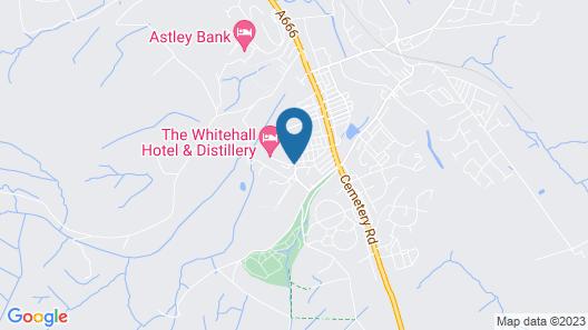 The Whitehall Hotel & Restaurant Map