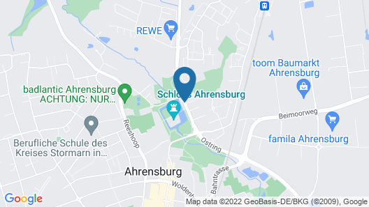 Park Hotel Ahrensburg by Centro Map