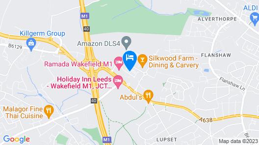 Ramada by Wyndham Wakefield Map