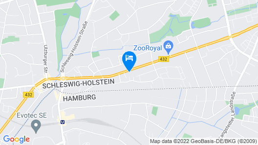 Hotel Friesenhof Map