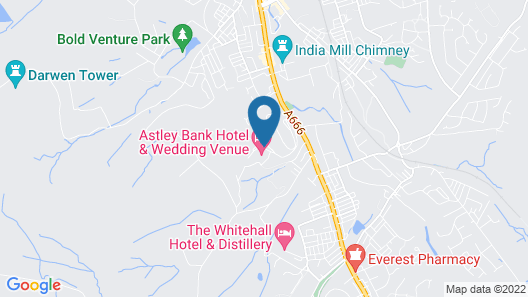 Astley Bank Hotel Map