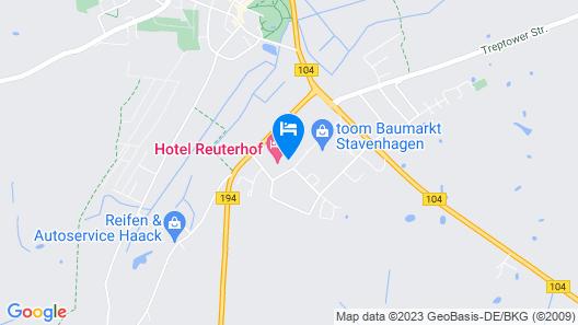 Hotel Reuterhof Map