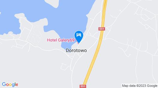 Hotel Galery69 Map