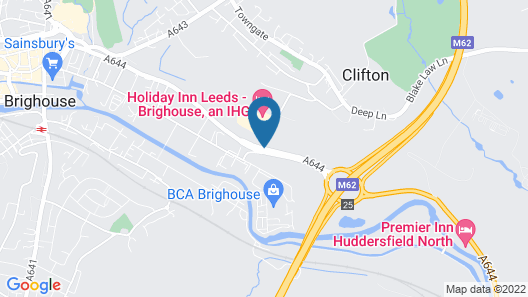 Holiday Inn Brighouse Map