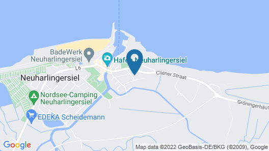 Haus Hafenromantik Map