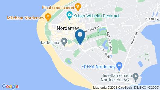 Strandloft Drei Norderney Map